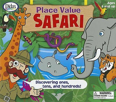 Place Value Safari: Discovering Ones, Tens, and Hundreds! [W