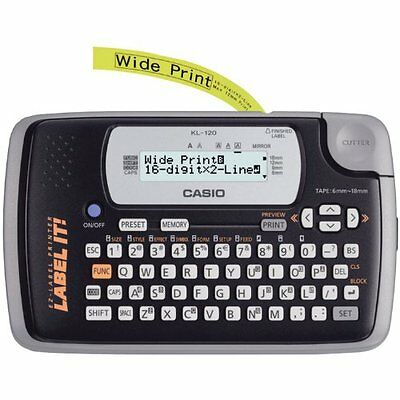 Casio KL-120 Portable Thermal Label Maker