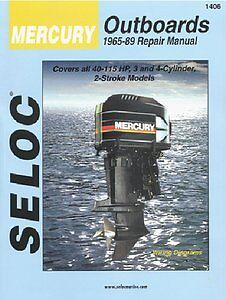 MERCURY Outboard VOL 2, 3 & 4 Cylinder 1965-1989 Repair Manual
