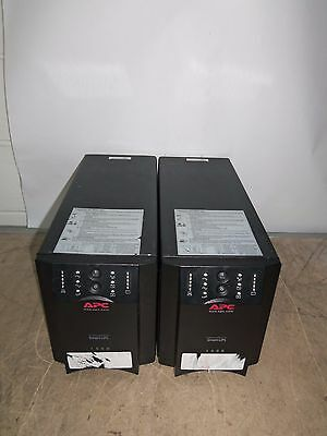 2 x APC DLA1500I 1500VA UPS Battery Backup 8 x IEC13 USB - NO BATTS - Working