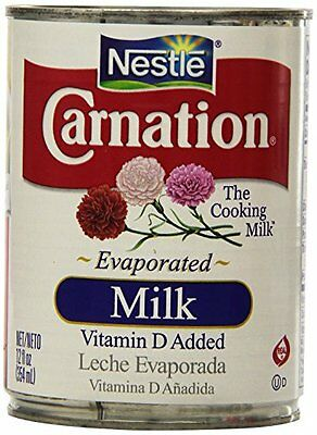 Nestle Carnation Evaporated Milk  8 Can of 12oz