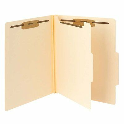 Smead Classification Folders, Reinforced Tab, One Divider, Letter Size, Man