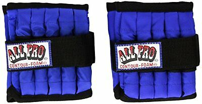 All Pro Weight Adjustable Ankle Weights, 5-lb pair (up to 2½-lbs per ankle)