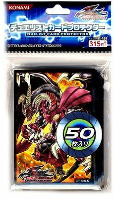 Yugioh Japanese 5D's Red Dragon Archfiend/Assault Mode Official Card Sleeves