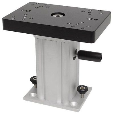 Cannon 6-Inch Aluminum Fixed Base Pedestal Mount