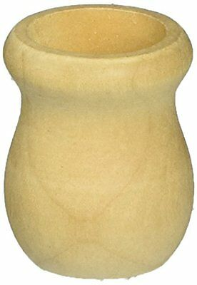 """Wood Turning Shapes-Candle Cup 1-1/4"""" (5/8"""" Hole) 2/Pkg"""