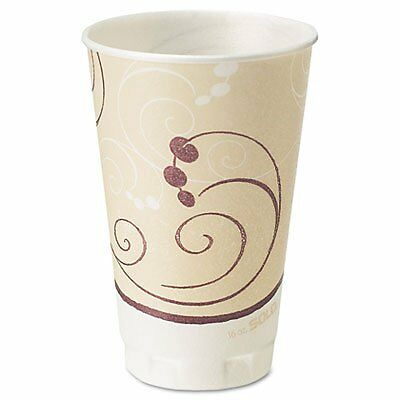 SOLO Cup Company X20J8002 - Symphony Design Trophy Foam Hot/Cold Drink Cups