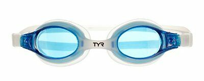 TYR Swimple Kids nGoggle (Blue/Translucent Clear)