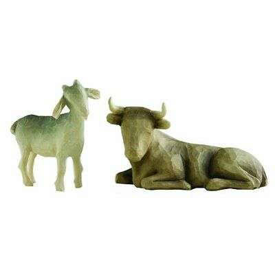 Willow Tree Ox and Goat