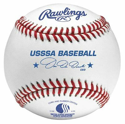 Rawlings Official Stamped USSSA Baseball (Pack of 12)