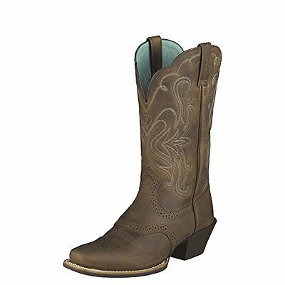 Ariat Women's Legend Western Cowboy Boot, Distressed Brown, 6 M US
