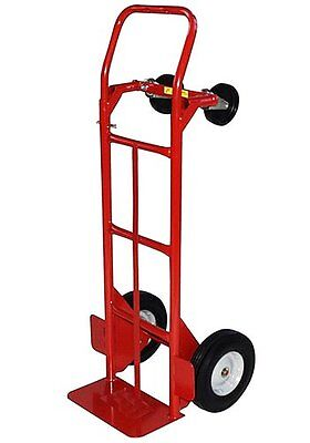 Milwaukee Hand Trucks 40180 Convertible Truck with 10-Inch P