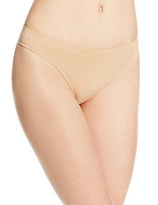 Capezio Women's Seamless Low-Rise Thong, Nude, Large