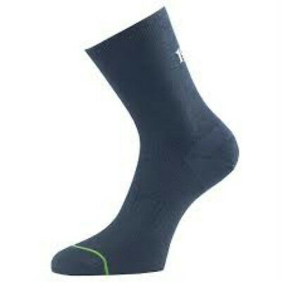 1000 Mile  Navy Mens Running Socks Size Extra Large x 6 Pairs Double Layer