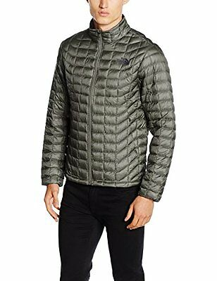 Grigio/Fusebox Grey (TG. XL) North Face M Thermoball Full Zip Eu Giacca, Grigio/