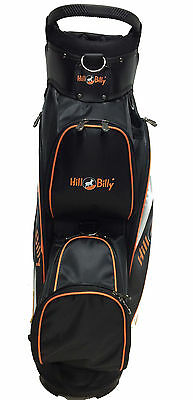 New 2016 Hill Billy Golf Bag Orange