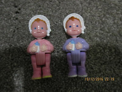 Fisher Price Loving Family twin baby figures dolls