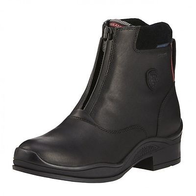 (c)Ariat Extreme H2O Insulated Zip Paddock Boot size 6.5 black only £119.00