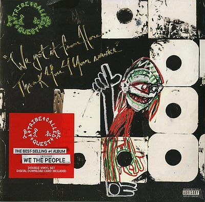 A Tribe Called Quest We Got It From Here Thank You 4 Your Service 2 Vinili Lp