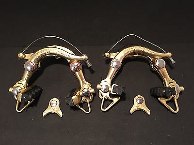 Gold MAFAC 2000 FIRST GEN Competition brake calipers freins Peugeot PX PY 10