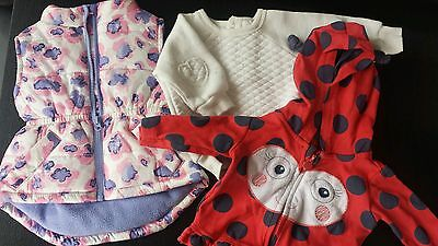 Baby Girl 4x size 000 Winter Jumper/Jackets/Vest PERFECT FOR WINTER