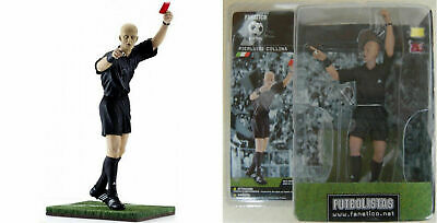 PIERLUIGI COLLINA Action Figures Futbolistas Fanatico. (h 16cm). NUOVO NEW