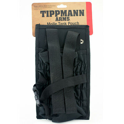 *New* Tippmann Molle Paintball/ Airsoft - Tank Pouch - Black