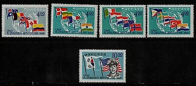 1965 KOREA(SOUTH)(15th anniv. of war)STAMP(MNH) S.G.595-599