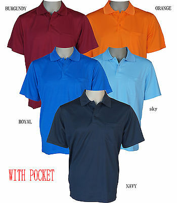 basic polo shirts with pocket, unisex, mens, womens, S-7XL