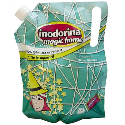 Inodorina Magic Home Igienizzante E Profumante Per Casa Gusto Muschio Bianco 1Lt