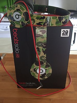 Beats By Dr.Dre x BAPE Solo HD 20th Anniversary Limited Edition Headphones
