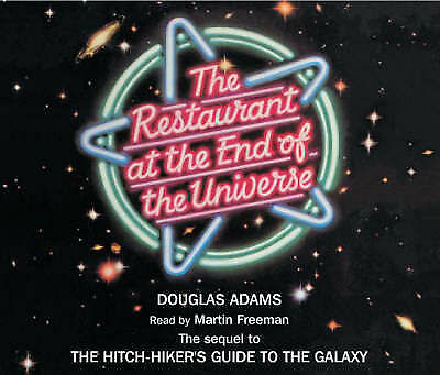 The Restaurant at the End of the Universe  (CD-Audio)-9781405090841-G012