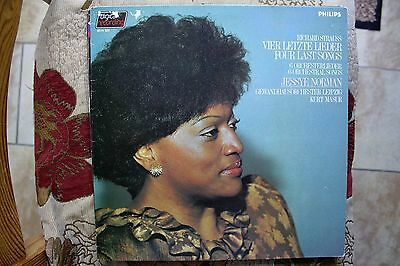 6514 322 - Jessye Norman - Strauss Four Last Songs - Philips 1983 Stereo Lp