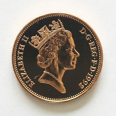 """1992 """"TWO PENCE"""" coin from Royal Mint set"""