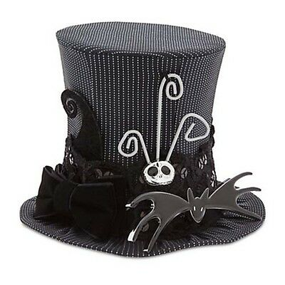 Disney Parks Mini Top Hat Nightmare before Christmas Jack Skellington