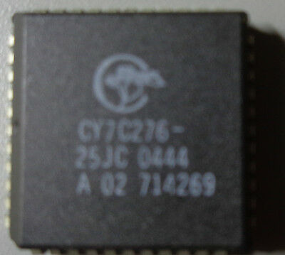 CYPRESS CY7C276-25JC EPROM, 16K x 16, 44PIN PLCC(LOT OF 43)