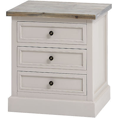 The Studley Collection 3 Drawer Side Table- Wonderful Addition To The Home.