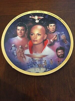 STAR TREK: THE MOTION PICTURE PLATE The Movies PLATE Hamilton COLLECTION w/ COA