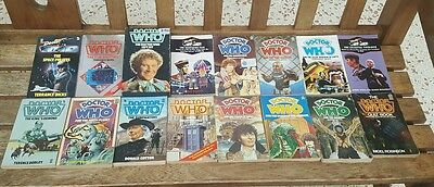 dr who vintage book collection 2