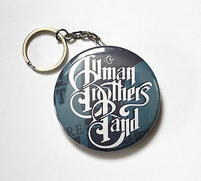Rare Large «Allman Brothers Band» Keychain & Bottle Opener All In One 2¼""