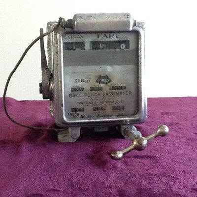 Vintage rare Bell Punch taxi meter