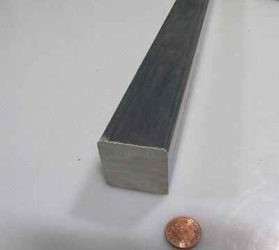 "Fiberglass Square Bar, 1 1/2"" Thick x 1 1/2"" Wide x 60"" Length Grey"
