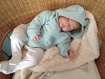 """REBORN BABY Theo from Michelle Fagan's Easton  24"""" 6 months"""