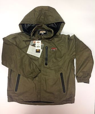 Sportchief Loden Green Jacket Waterproof Breathable Hunting Shooting Fishing