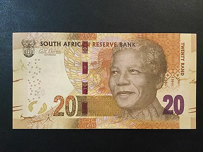 2014 South Africa Paper Money - 20 Rand Banknote !