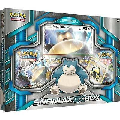 Pokemon TCG: Snorlax GX Collection Box Brand New and Sealed