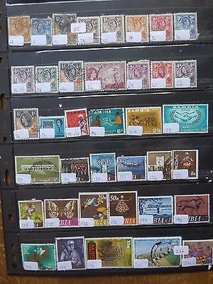 Northern Rhodesia & Zambia  - Various Stamps