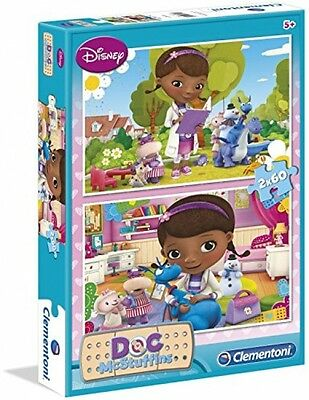 Puzzle 2x60 Pcs Clinic For Soft Toys