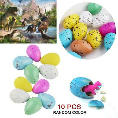 10x Funny Magic Hatching Dinosaur Add Water Growing Dino Eggs Educational Toy FT