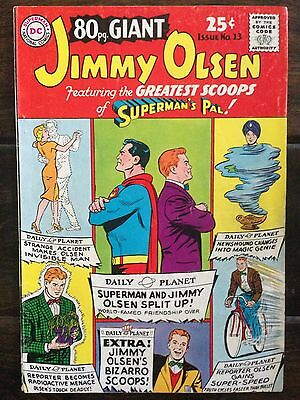 DC 80 Page Giant #13, Very Good 4.0, Superman, Jimmy Olsen, 1965
